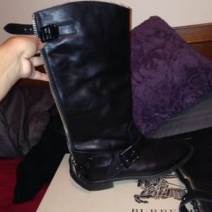 Burberry boots!