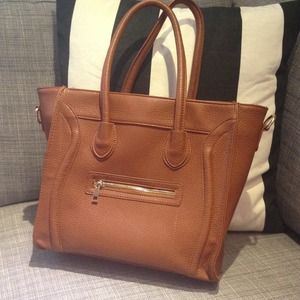 best celine bag replica - 60% off Handbags - Faux Celine look-alike bag from K's closet on ...