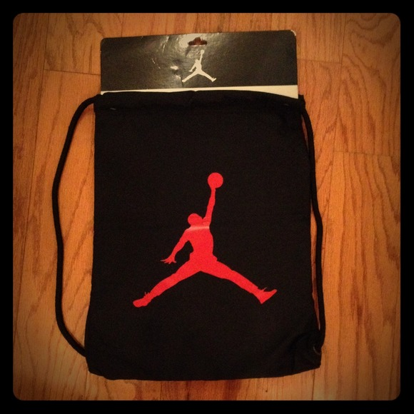Jordan - BUNDLE... Jordan drawstring bag and Nike shorts from ...