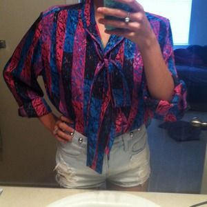 Super rad vintage blouse