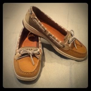 BRAND NEW! Striped Sperry Top-Siders! LAST PAIR!!!