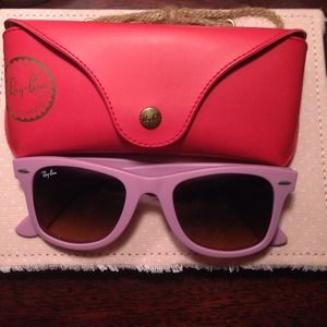 Hot Pink Ray Bans