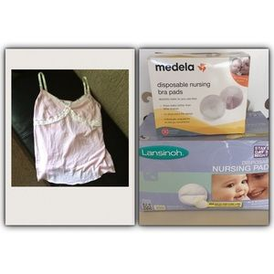 Nursing Tank Top and Pads