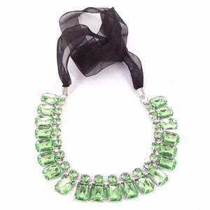Gorgeous Green Statement Necklace
