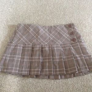 Preppy pleated skirt Small