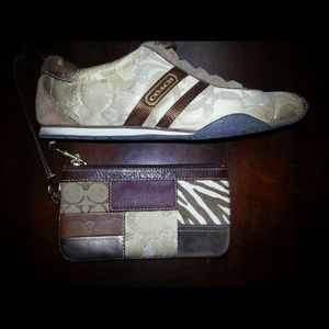 Coach sneakers $35