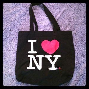 I Love NY tote