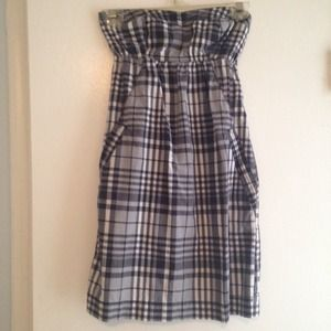 American Eagle Plaid Dress