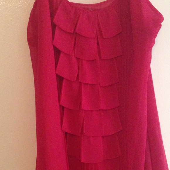 esley Dresses - Esley Raspberry Dress