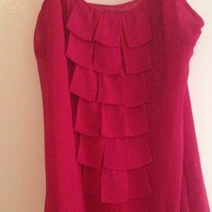 esley Dresses - Esley Raspberry Dress