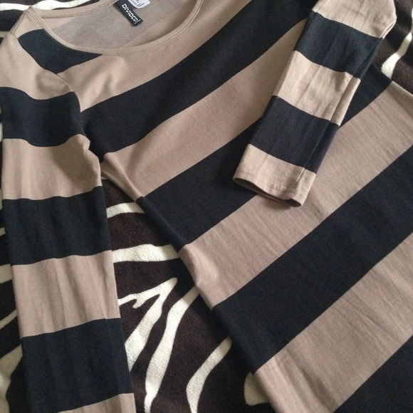 H&M Dresses - Striped Bodycon Dress