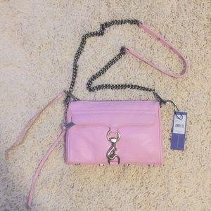 NWT Rebecca minkoff mini MAC dusty pink