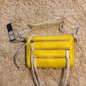 NWT Rebecca minkoff mini 5-zip marigold