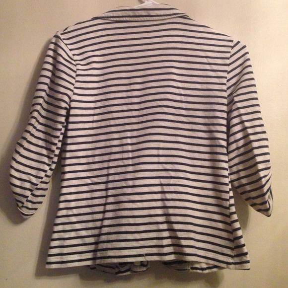 Jackets & Coats - Striped cotton blazer