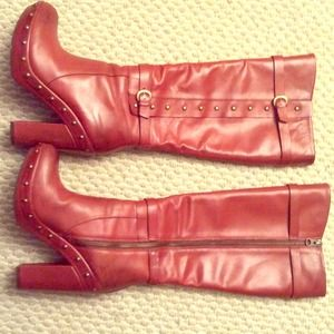 Korea Ease Leather Boots 7.5