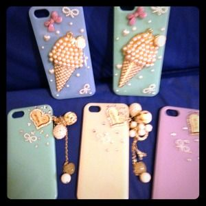 Accessories - Brand New Bling iphone 5S cases assorted colors