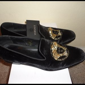 Gianni Versace Leather Shoes Moccasins