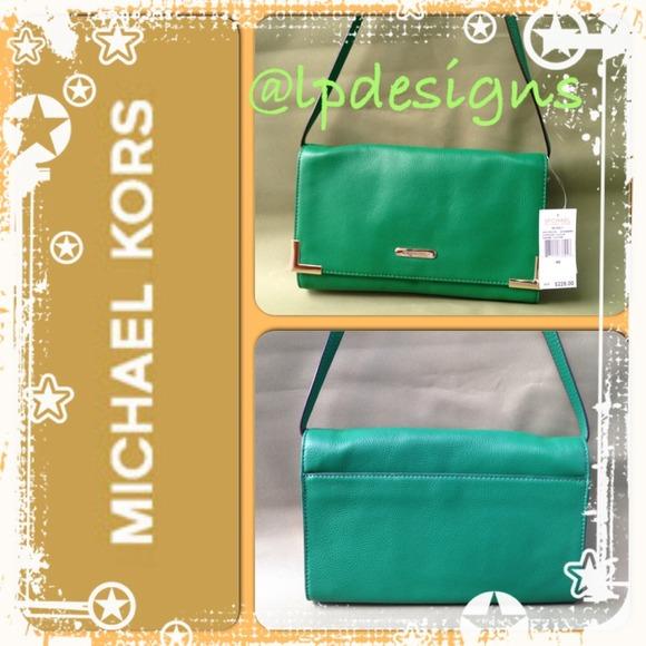 ab2d21176604 Michael Kors Bags | Beverly Gooseberry Oversize Clutch | Poshmark