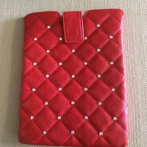 REDUCED!!!Red iPad case!
