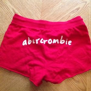 Abercrombie Kids Red Shorts, Size L