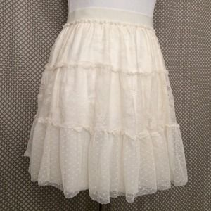 American Eagle Outfitters Dresses & Skirts - Lace Tiered Skirt