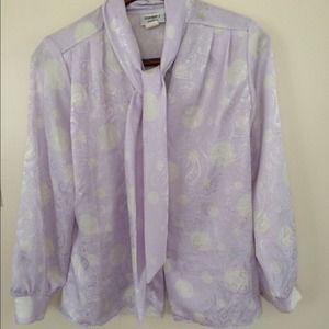 Vintage Silk Blouse/ Jacket