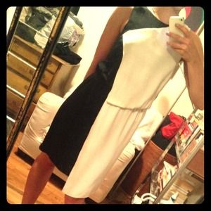 Black and White Tibi Dress