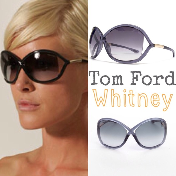fdbbec31d5c Oversized sunglasses - Tom ford Whitney. M 5380a987e6ce2824790b59da