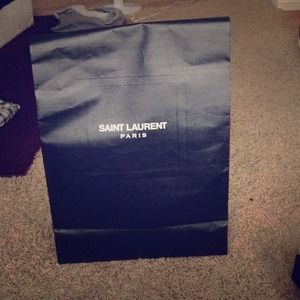 Ysl Saint Laurent shopping bag