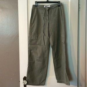Express Blues cargo pants