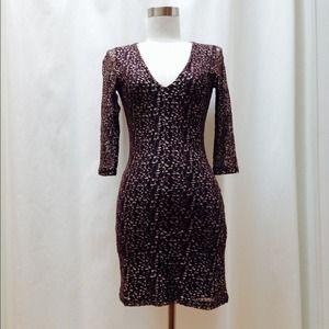 Nightcap Dresses & Skirts - SUPER SALE 🙌🏼 Nightcap Cheetah Lace Dress