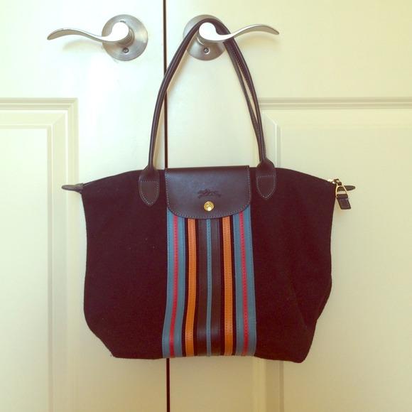 Longchamp Handbags - Longchamp Limited Edition Wool bag-Medium 2f502f126dc6f