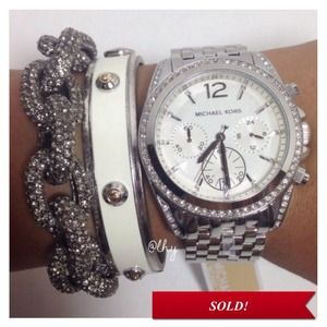 Michael Kors Jewelry - ❌SOLD❌Michael Kors Pressley Chronograph Watch