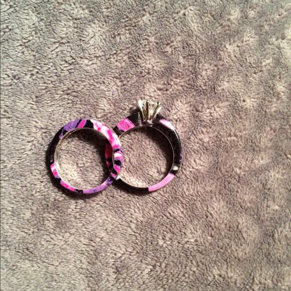 27 off Jewelry Muddy girl camo wedding rings from Dyllans