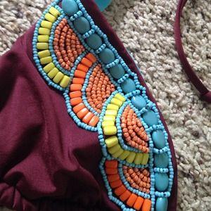 Mossimo Supply Co. Swim - Beaded string bikini top