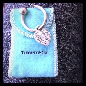 Tiffany &Co Notes Keychain