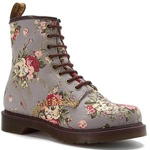 floral denim doc martens