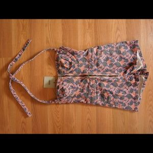 Halter style romper from asos size 4