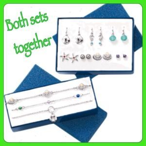 Avon Jewelry - Signs of the ocean earrings and anklets