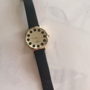 kate spade Accessories - Kate Spade black metro watch
