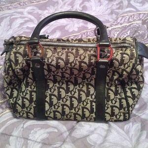 Authentic Christian Dior Speedy Handbag