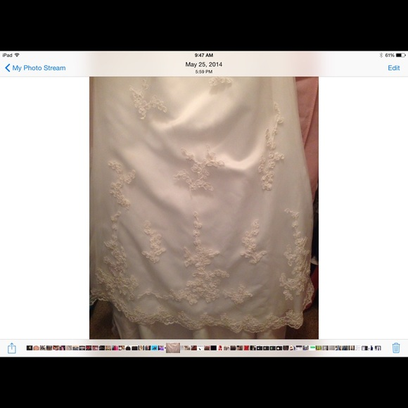85 off davids bridal other nwt david 39 s bridal wedding for Need to sell my wedding dress
