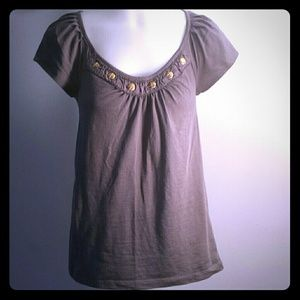 Grey short sleeve shirt ⭐