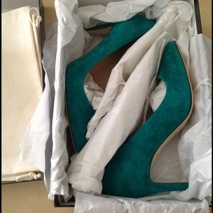 J. Crew Shoes - J.Crew deep emerald everly pump 4