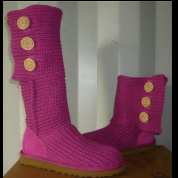 Brand new pink cardy uggs! No box