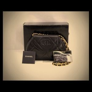 CHANEL MINI/CLUTCH LAMBSKIN.