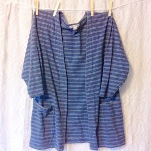 Light Blue Striped Cozy