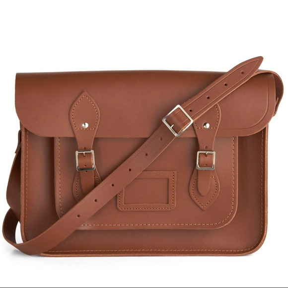 be56583673ca Cambridge Satchel Company Handbags - SALE! Cambridge Satchel (Brown) -  Classic 14 inch