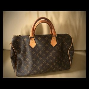 % Authentic Louis Vuitton Speedy 35