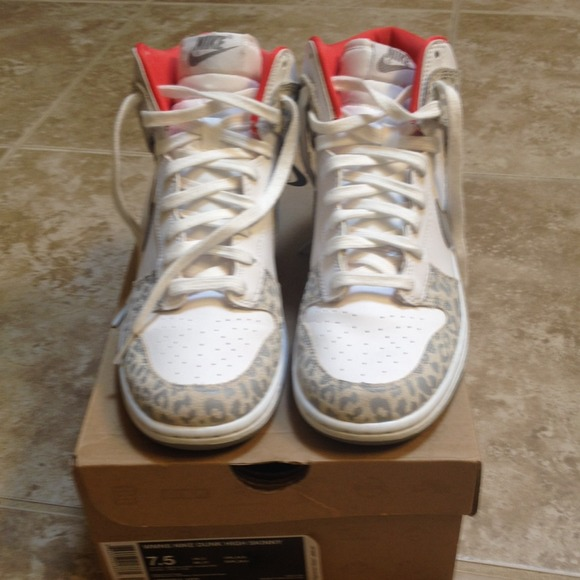Nike Dunk High Skinny Snow Leopard. M 5383a9990fb6cd5f471fbfeb 84dc289a71